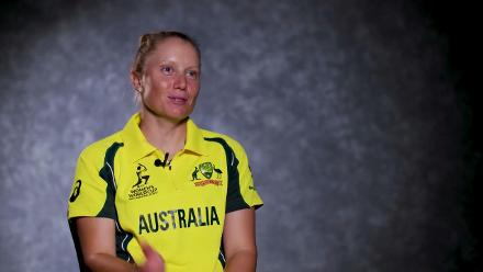 #WWC17 Australia v India: Alyssa Healy Feature
