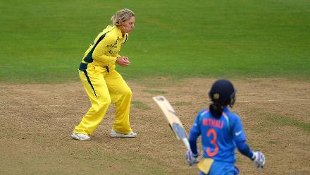 Mithali Raj wicket