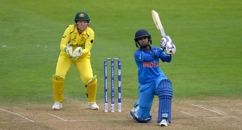Mithali Raj scored a sedate 69 in 114 deliveries , also becoming the highest run-scorer in ODIs, surpassing Charlotte Edwards