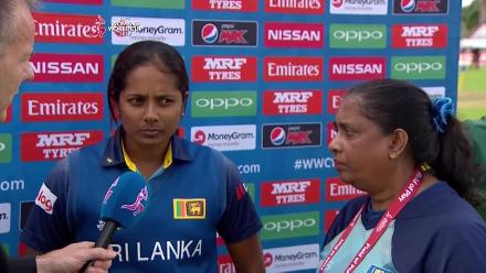 #SLvSA POTM and Captains Interview