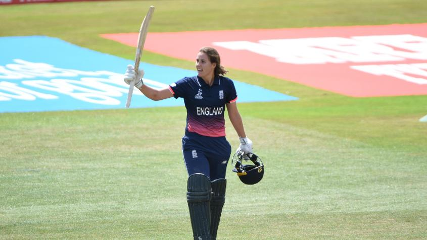 Sciver has already hit two centuries and invented a new shot, the 'Natmeg.