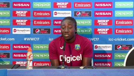 14 July, Bristol - West Indies- Stafanie Taylor pre-match press conference