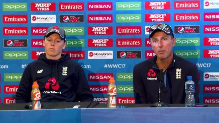 14 July- Bristol- England pre-match press conference