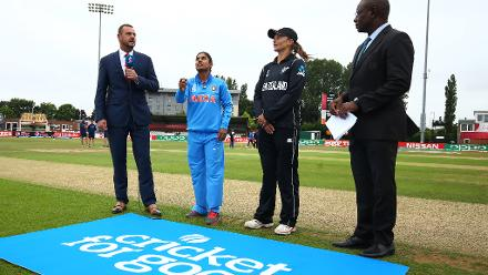 ICC Women's World Cup Match 27 - India v New Zealand, Derby