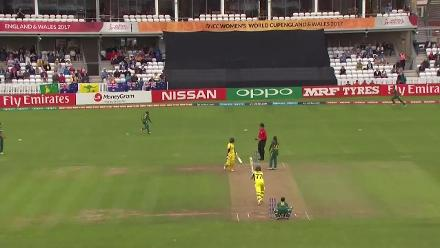 WICKET: Alyssa Healy falls for quick 16