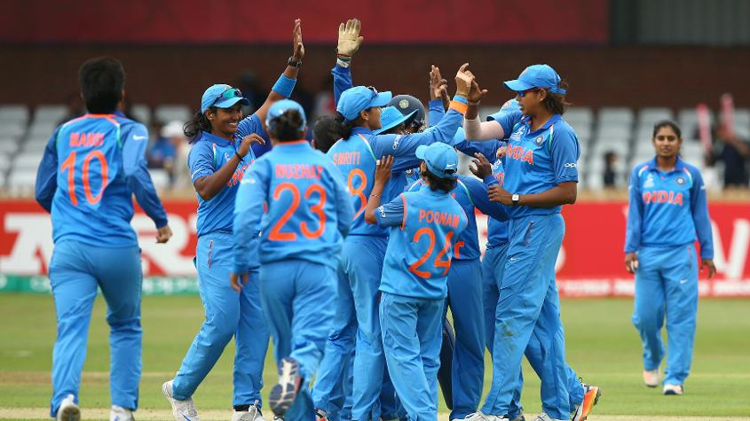 It was a comfortable win for the Indians in the end, as they booked their place in the semi-finals of the tournament by skittling out New Zealand for 79, registering a thumping 187-run victory in the process
