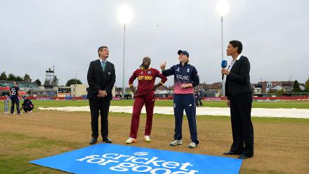 West Indies won the toss and elected to field first.