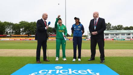 Sri Lanka won the toss and opted to bat first.