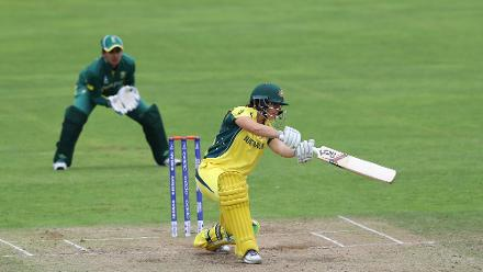 Nicole Bolton scored freely and sailed past her half-century to give Australia a fine start