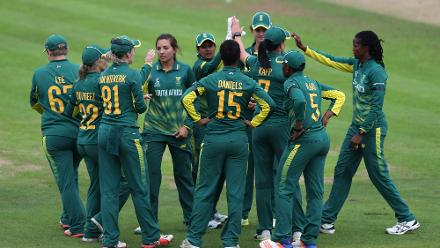 Sune Luus's 5 for 67 in 10 overs helped bowl Australia out for 269 in 48.3 overs.