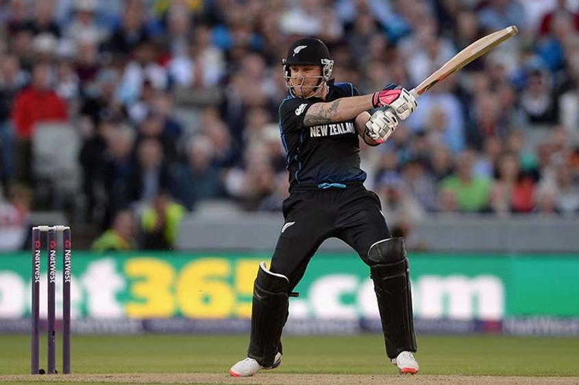 The former New Zealand captain, Brendon McCullum is known for his aggressive opening style of play