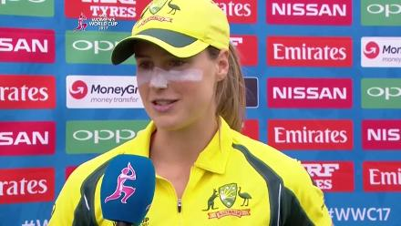 #WWC17 AUS v SA: Player Of The Match - Ellyse Perry