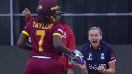 WICKET: Laura Marsh gets rid of Stafanie Taylor for nought