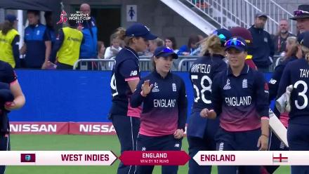 #WWC17 ENG v WI - Winning Moments