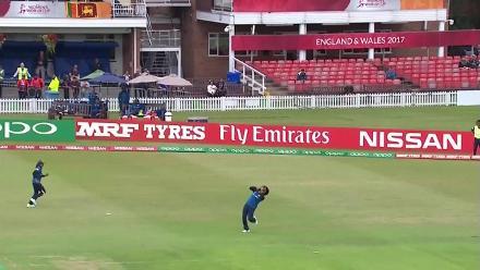 WICKET: Diana Baig becomes Ama Kanchana's second wicket