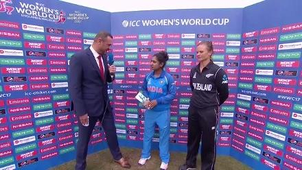 #WWC17 India v New Zealand: Captain's Interview