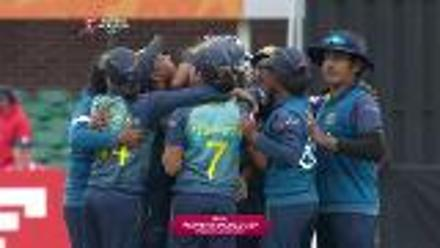 #WWC17 The winning moment for Sri Lanka