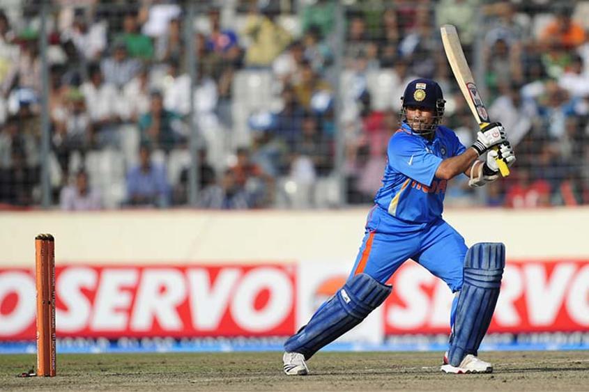 Sachin Tendulkar was the first batsman to score a double century in ODIs