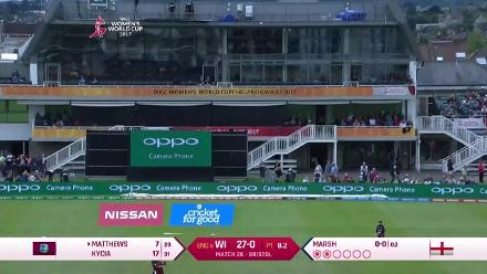 #WWC17 ENG v WI - Match highlights