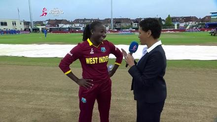 #WWC17 ENG v WI - Toss Report
