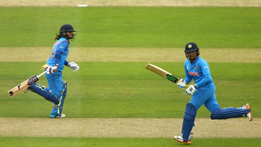 Mithali Raj's classy 109 – her sixth ODI ton – was supplemented by Veda Krishnamurthy's explosive 70 off just 45 balls.