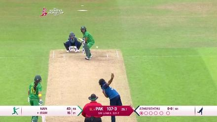 #WWC17 Pak v SL - Match highlights
