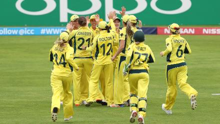 ICC Women's World Cup Match 25 - Australia v South Africa, Taunton