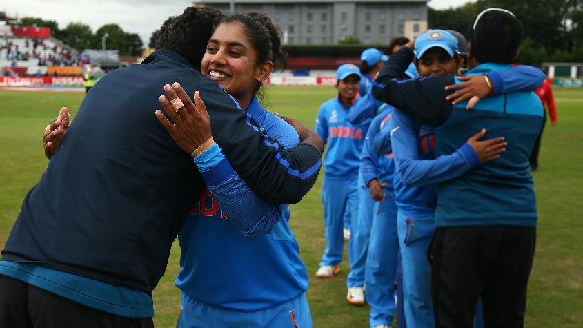 Mithali Raj made a move back towards the number rank among batters.
