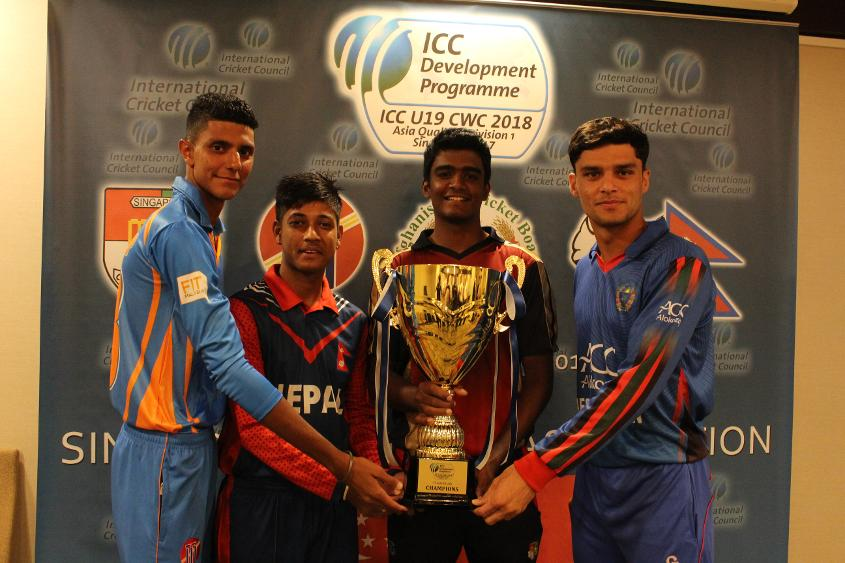 U19 Asia Captains