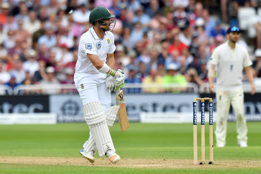 Together with opener Dean Elgar (80), Amla put on 135 for the second wicket.
