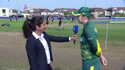 TOSS: South Africa opts to bat in SF 1
