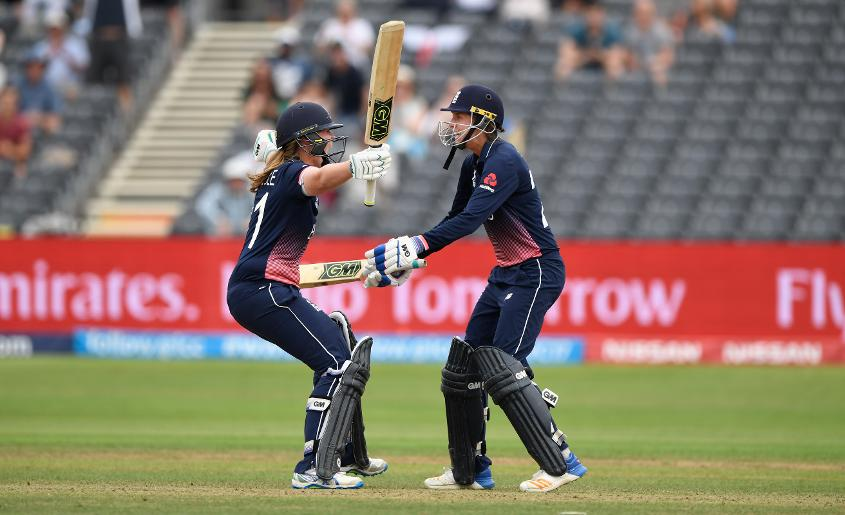 In a game that went down to the wire, with two needed of the last three balls, Anya Shrubsole walked in and smashed a boundary, taking the host to the finals of the Women's World 2017
