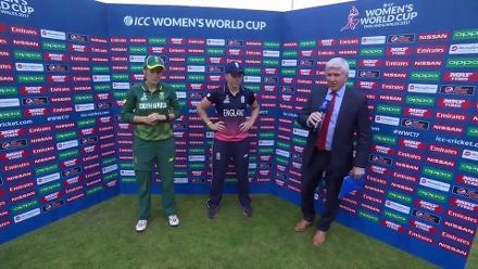 #WWC17 Semi-Final 1 - ENG v SA - Captains Interview
