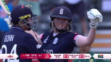 #WWC17 Semi-Final 1: ENG v SA - Match Highlights