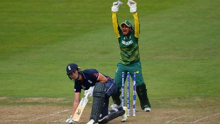 Natalie Sciver wicket