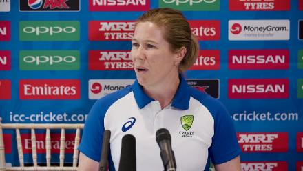#WWC17 SF2 - AUS v IND - Alex Blackwell pre-match press conference