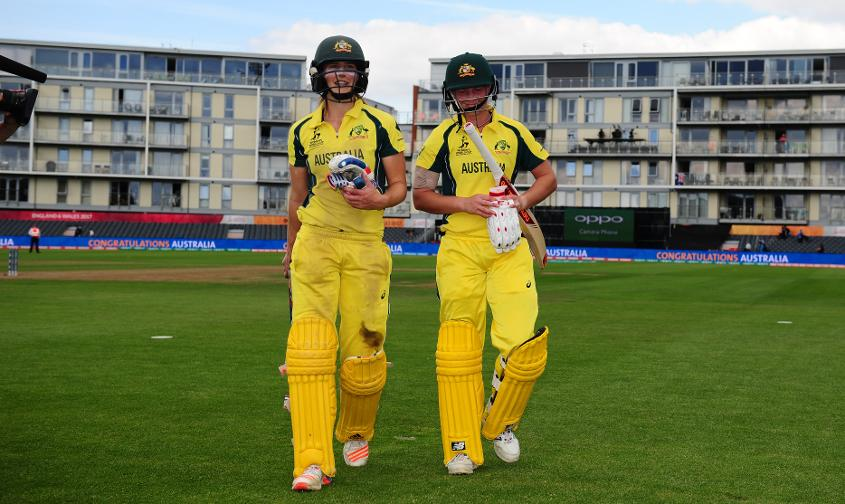 It was Australia who came out on top when the two sides met at Bristol in the group stage as Meg Lanning and Ellyse Perry both made unbeaten half-centuries.