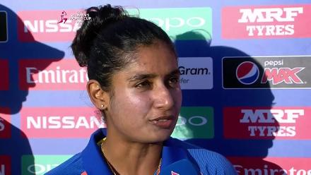 #WWC17 AUS v IND - Captains Interview