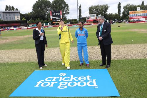 The second Semi-final, at Derby was forced to be reduced to 42-overs a side with heavy rains delaying proceedings, as India won the toss and elected to bat first