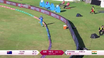 #WWC17 AUS v IND- Ellyse Perry Innings