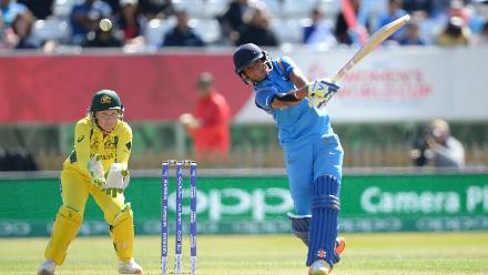It was all Harmanpreet after that as she slammed an unbeaten 171 in just 115 deliveries, studded with 20 fours and seven sixes, as she carved the Australian bowlers to all corners of the park