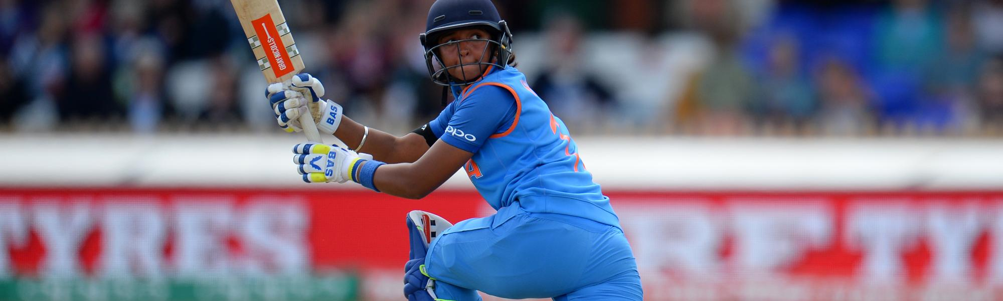 Harmanpreet Kaur top-scored for India
