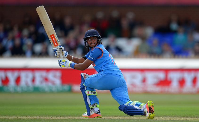 Harmanpreet Kaur top-scored for India