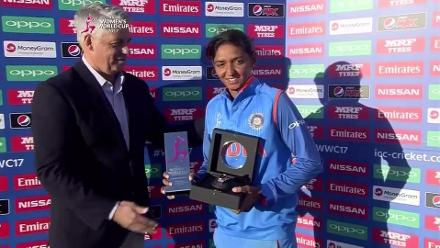SF2 - AUS vs IND - Player Of The Match - Harmanpreet Kaur