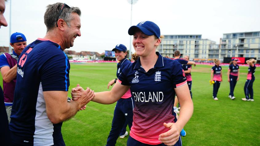 Home skipper Heather Knight admits revenge is on the mind of her team and believes a greater familiarity with the Lord's surroundings could pay dividends.