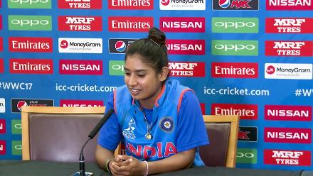 22 July, London - India - Mithali Raj pre-final press conference