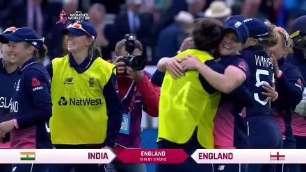 #WWC17 FINAL: England Winning moment