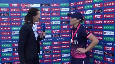 #WWC17 Final: Heather Knight interview