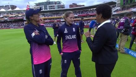 #WWC17 FINAL: Sarah Taylor and Jenny Gunn Interview