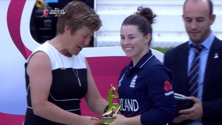 #WWC17 Final: Player Of Tournament – Tammy Beaumont